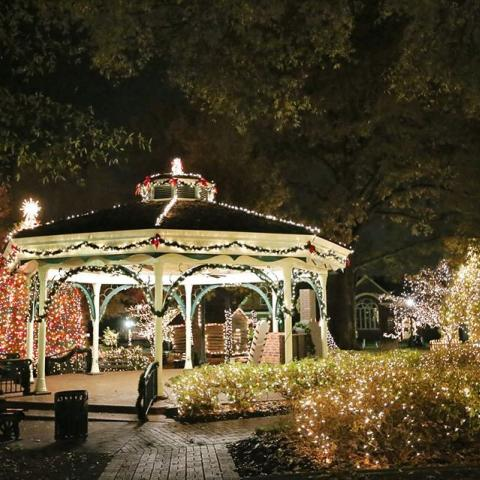 Christmas on Collierville Town Square