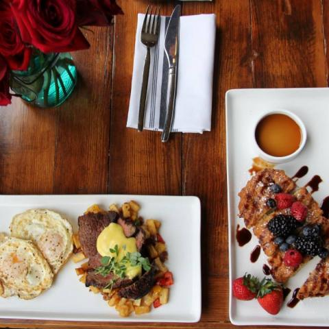 Brunch at Grays on Main