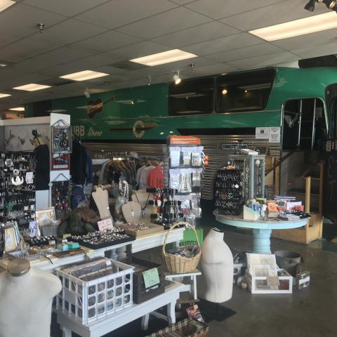 Visit Ernest Tubb's Tour bus and over 40 unique local vendors.