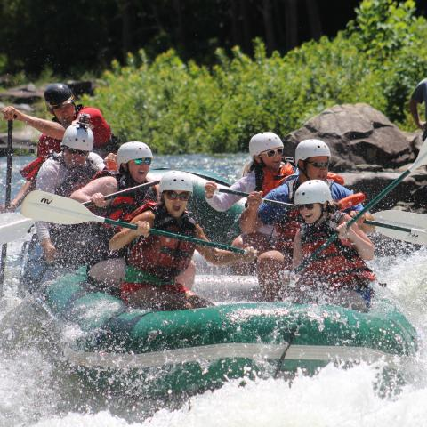 Whitewater Rafting on the Ocoee River with Adventures Unlimited