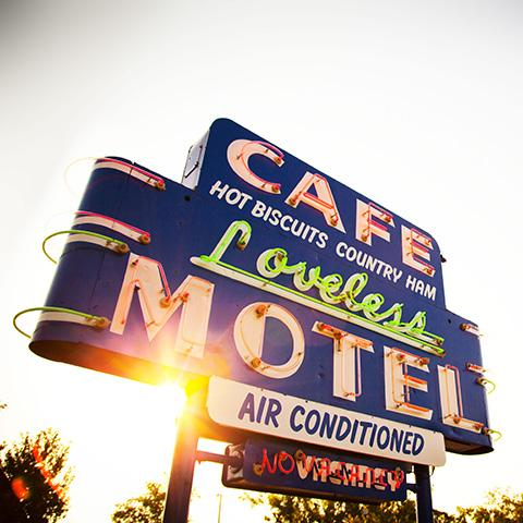 The Loveless Cafe Neon Sign