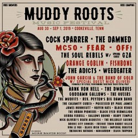 Muddy Roots Music Festival 2019 Lineup