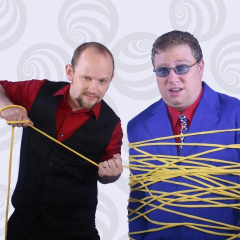 Master Mentalist Erik Dobell and Magical Comedian Chris Collins from Impossibilities