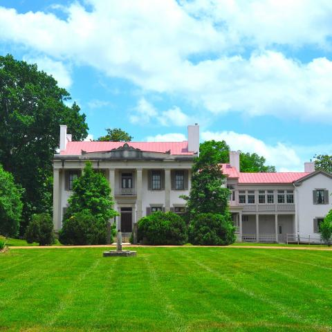 1853 Greek Revival Mansion at Belle Meade