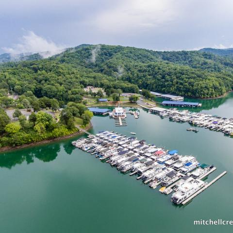 Mitchell Creek Marina at Dale Hollow Lake