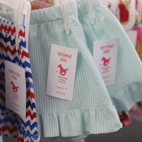 Children's clothing in Peppermint Pony in Humboldt, TN