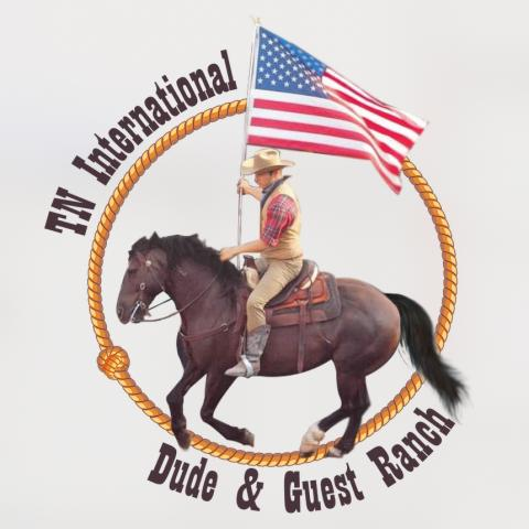 TN International Dude & Guest Ranch Logo