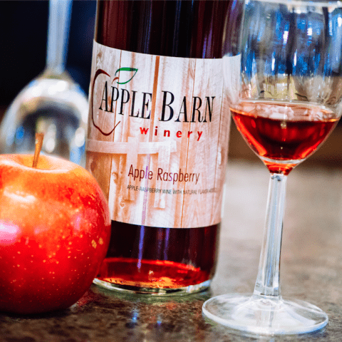 Apple Barn Winery Apple Raspberry Wine