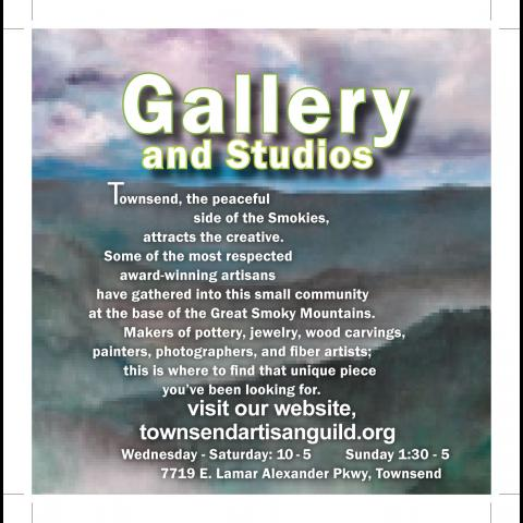 Local creative artists display and sell their work at the Gallery and Studios