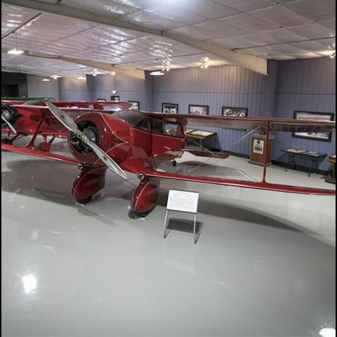 A world class aviation museum housing original Travel Air and Beechcraft  airplanes, in addition to a full array of history on the Walter & Olive Ann Beech family, Aviatrix Louise Thaden and many other fascinating historical artifacts.