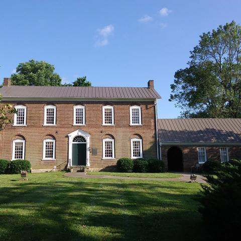 Trousdale Place located off the square in Gallatin. Come see the home  placed on the National Register of Historic Places and Tennessee Civil War Trail.