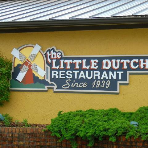 The Little Dutch Restaurant in downtown Morristown