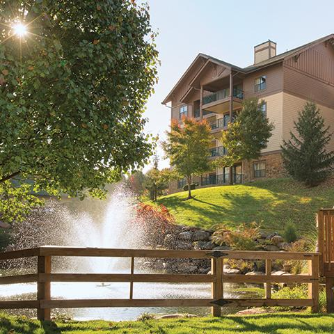 Sevierville, TN - Club Wyndham Smoky Mountains Exterior