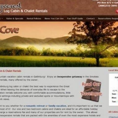 Ridgecrest Log Cabin & Chalet Rentals