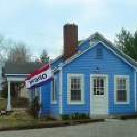 2 Sisters Blue House Primitives