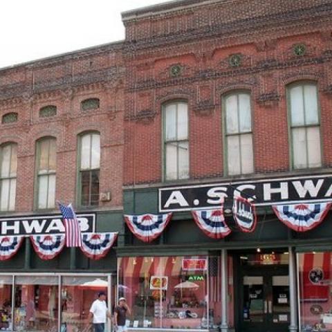 A. Schwab Dry Goods Store