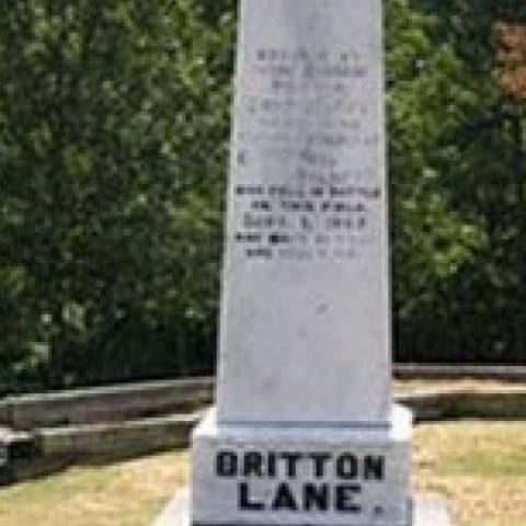 Britton Lane Civil War Battlefield