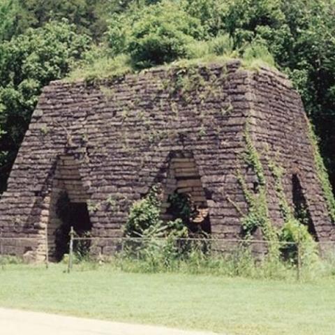 Cedar Creek Iron Furnace
