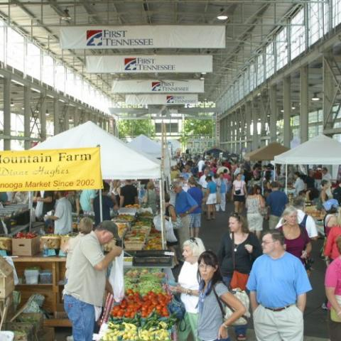 Chattanooga Market farmers market