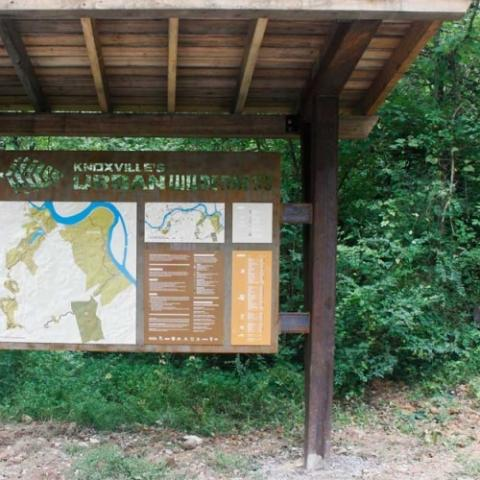 Urban Wilderness trail map
