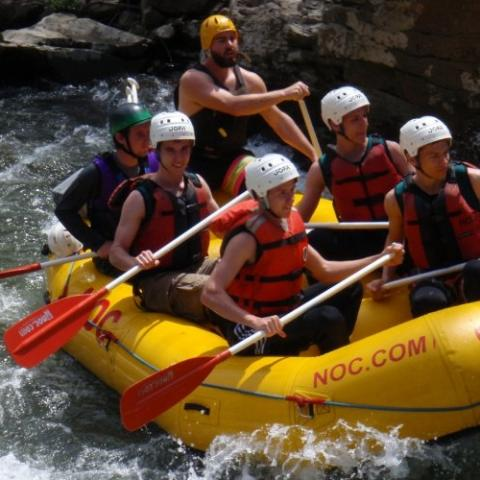 NOC Nolichucky River Whitewater Rafting