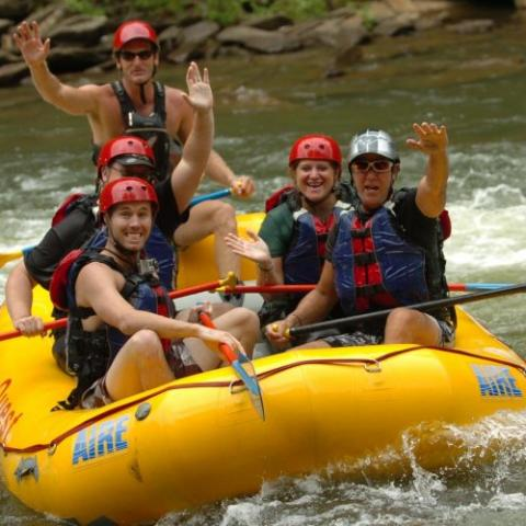 Ooee River Whitewater Rafting near Chattanooga.