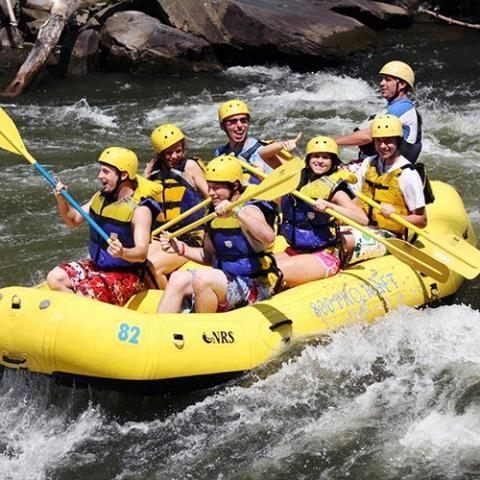 Rafting in Smokies - Hartford