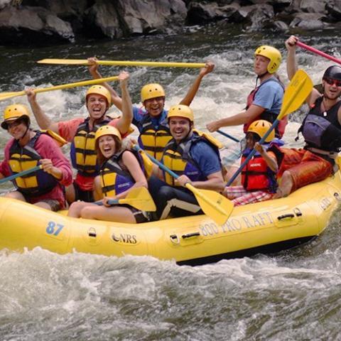 Rafting In the Smokies - Gatlinburg