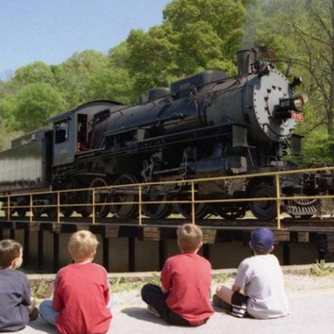 Relive the Golden Age of Railroading at the Tennessee Valley Railroad!