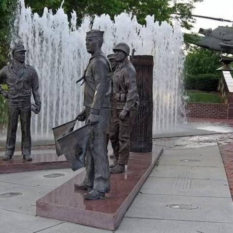 Veterans Memorial at Cumberland Square Park