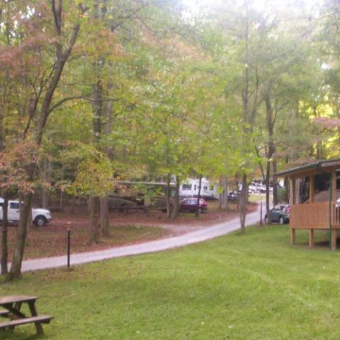 Woodsmoke Campground, 20 years in service, offers a quiet, wooded atmosphere of camping to guests.  Full hookup sites and tent sites with water and Wi-Fi are available.