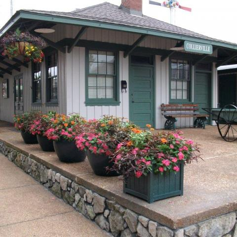 Collierville Historic Train Depot