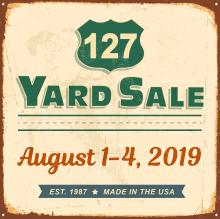 127 Yard Sale - The World's Longest Yard Sale! August 1-4