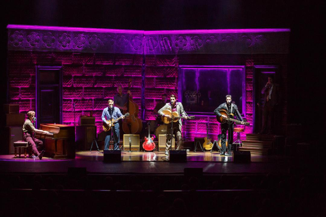 Million Dollar Quartet at the Clayton Center for the Arts