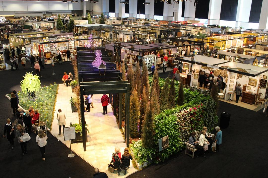 magnificent home and garden show nashville tn. show floor  garden Antiques and Garden Show of Nashville in TN Tennessee