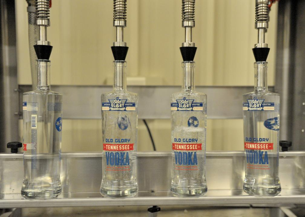 Bottling Old Glory Tennessee Vodka