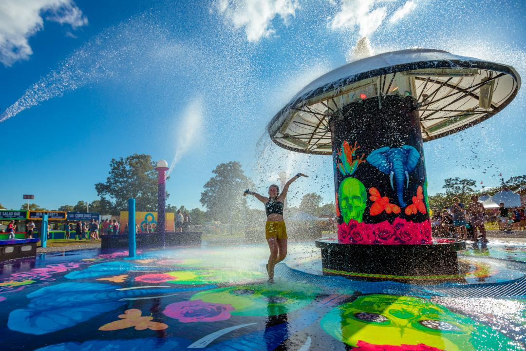 The Fountain at Bonnaroo