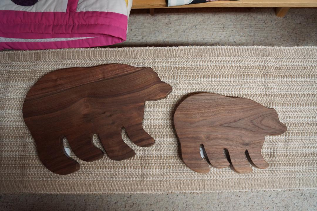 bear cutting boards