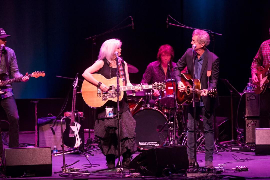 Emmy Lou Harris and Rodney Crowell