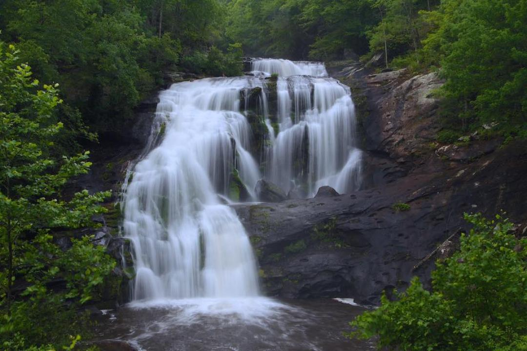 Bald River Falls In Tellico Plains Tn Tennessee Vacation