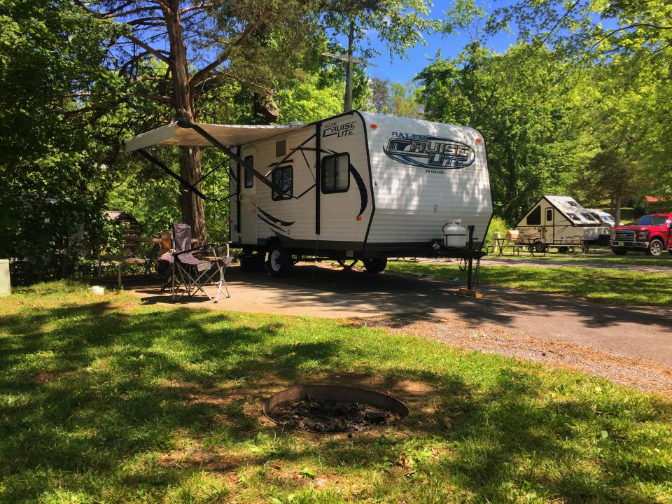 Foothills Rv Park And Cabins In Pigeon Forge Tn