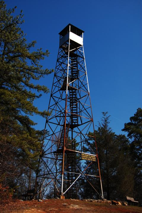 Take a hike to the fire tower for 360 degree views!