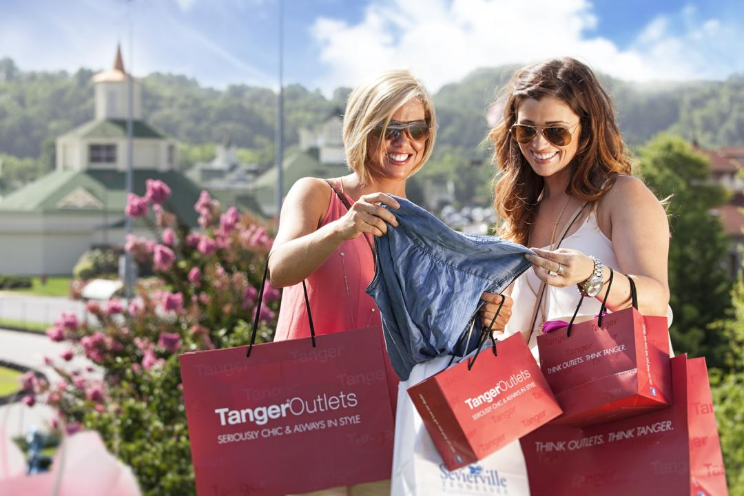 Shop more than 100 high end outlets at Tanger Outlets Sevierville.