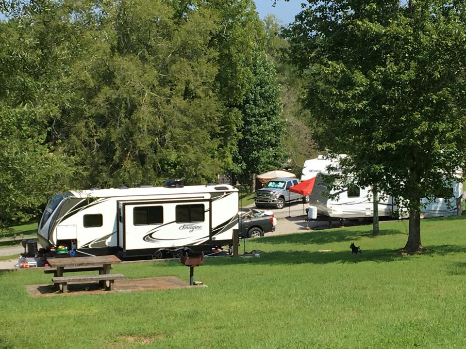 RV at Willow Grove Campground