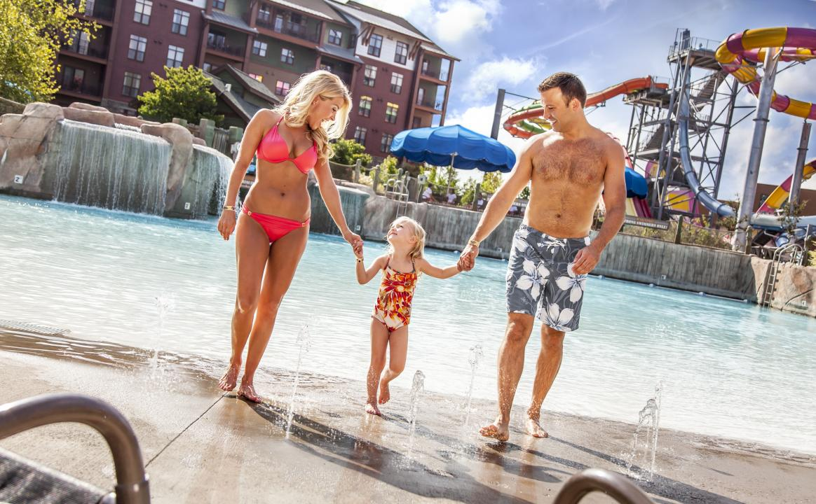 Families love Wilderness at the Smokies Water Park Resort.