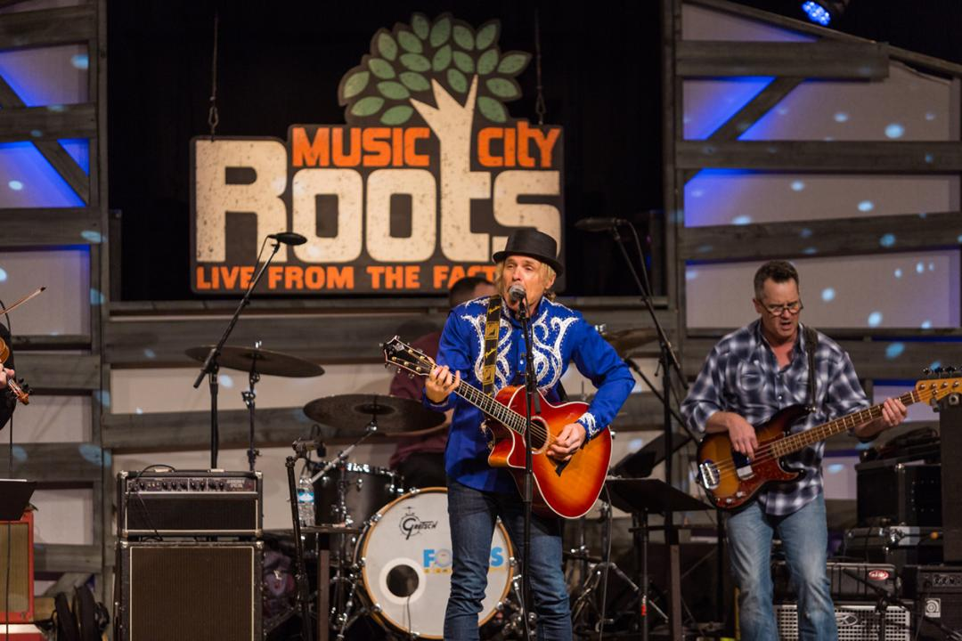 Music City Roots is broadcast nationally from The Factory in Franklin, Tennessee.