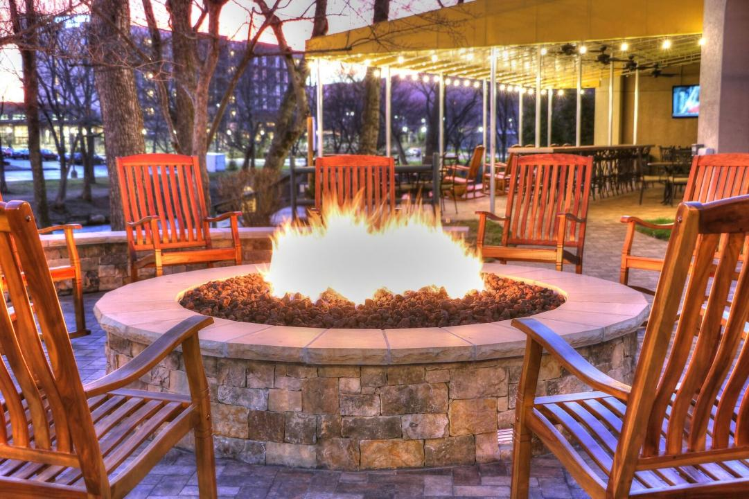 Relax and Unwind by the fire on the Little Pigeon River