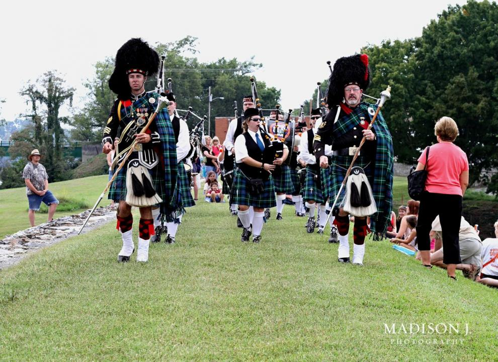 Scots-Irish Festival, Pipes and Drums