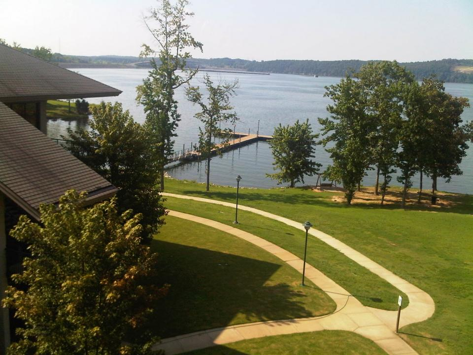 Pickwick Inn balcony view from every room