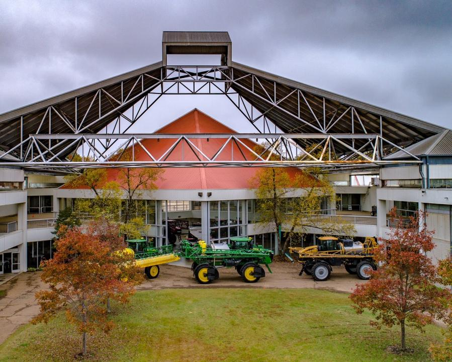 Agricenter Expo Center hosts many events throughout the year